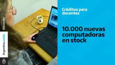 Photo of Educación renueva la línea de créditos para docentes sumando 10 mil computadoras