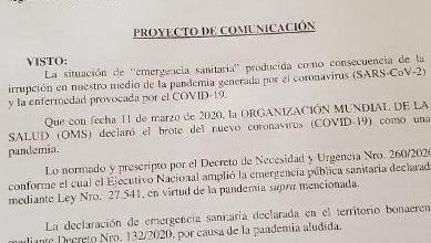 Photo of Coronavirus: Juntos por el Cambio presentó un petitorio en el HCD