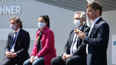 Photo of Kicillof participó junto al presidente de la puesta en marcha del Hospital Néstor Kirchner en Escobar