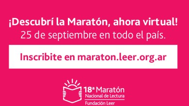 Photo of 18° Maratón Nacional de Lectura: se llevará a cabo el viernes 25 de septiembre por la Fundación Leer