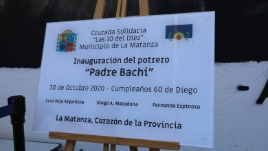 Photo of Lanzamiento de la campaña solidaria «Las diez del 10»