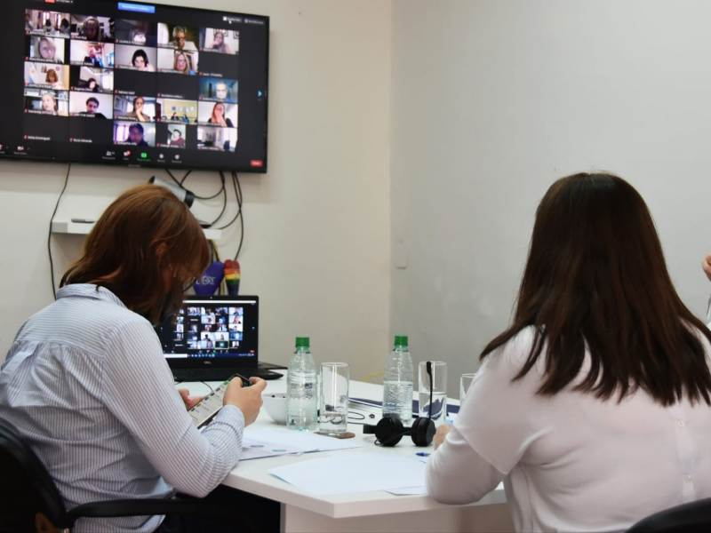 """Estela Díaz: """"Un trabajo de calidad es sin discriminación, sin violencias y con igualdad de género"""""""