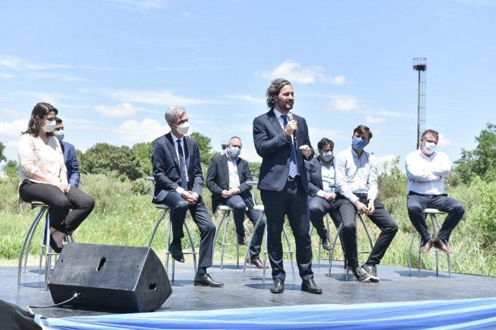 Nación cedió un predio para ampliar el parque industrial La Cantábrica de Morón