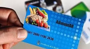 Photo of Tarjetas alimentar: nuevos titulares