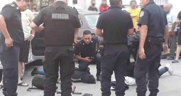 Tres detenidos, tras una persecución policial en Morón: La banda cometía su raid en un auto con pedido de captura