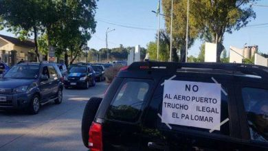 Photo of El Palomar: «caravanazo» contra el aeropuerto y Flybondi