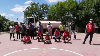 Photo of Jornada solidaria de mantenimiento de espacios públicos en Morón sur