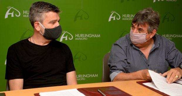 Hurlingham: Zabaleta firmó con la FESIMUBO un nuevo convenio colectivo que devuelve antigüedad a los municipales