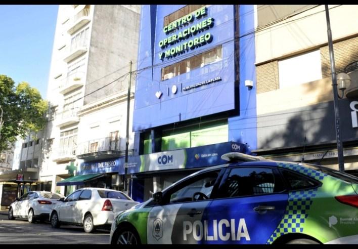 Píparo: allanaron el Centro de Monitoreo de La Plata