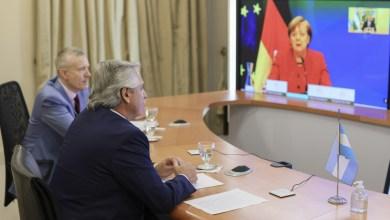 """Photo of Alberto Fernández: """"Necesitamos que nos sigan acompañando en el acuerdo que eventualmente logremos"""""""