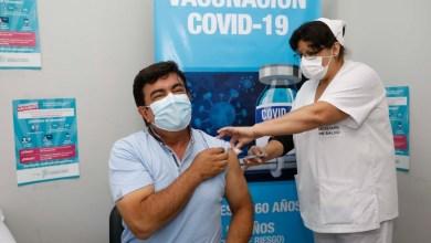 """Photo of Fernando Espinoza: """"Es un orgullo que en un hospital público municipal de La Matanza se esté aplicando la vacuna contra el COVID-19"""""""
