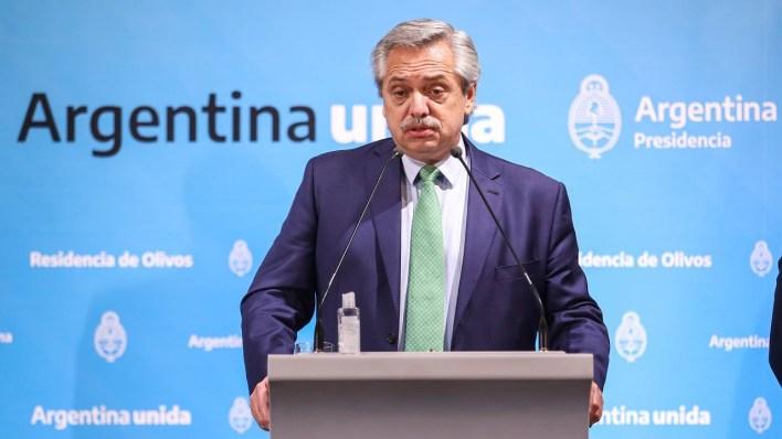 """Alberto Fernández anunció las nuevas medidas: """"Debemos continuar para que a nadie le falte una cama"""""""