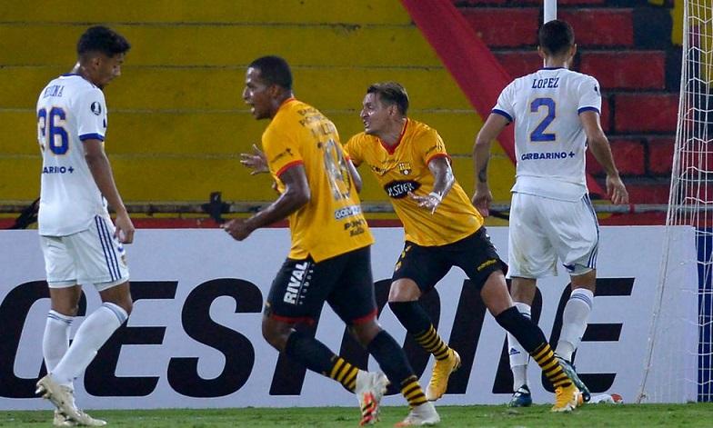 Boca perdió en la Libertadores y el rojo se llevó un empate de Brasil