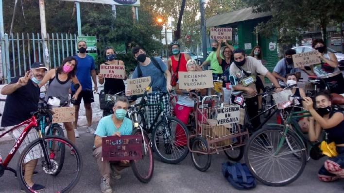 Hurlingham en Bicicleta: Piden crear una bicisenda en Av. Vergara