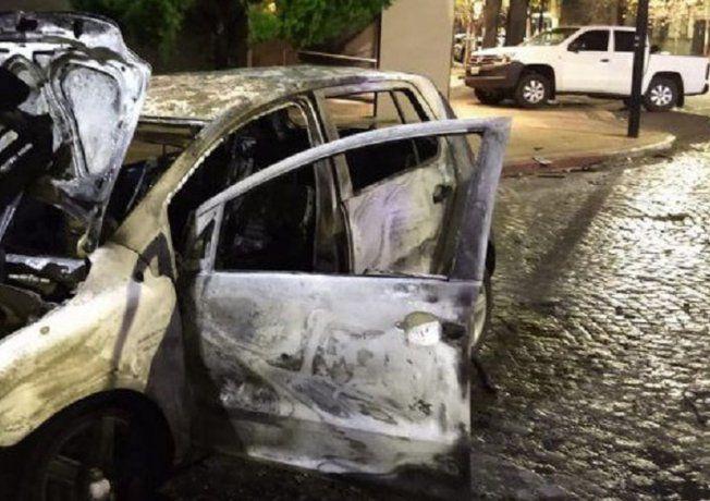 Así chocaron dos jóvenes alcoholizados al secretario de Seguridad de La Plata