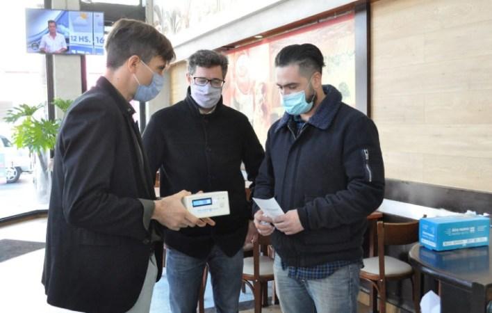 Hurlingham: Morales y Zabaleta presenciaron la última jornada del tráiler sanitario del Ministerio de Seguridad de la Nación