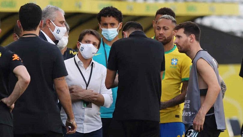 Bochorno y suspensión de Brasil-Argentina y vibrante empate entre River y el rojo