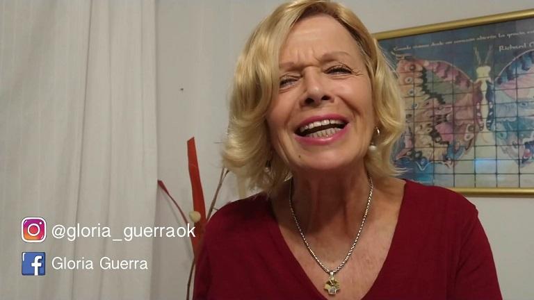 Gloria Guerra vuelve a los escenarios