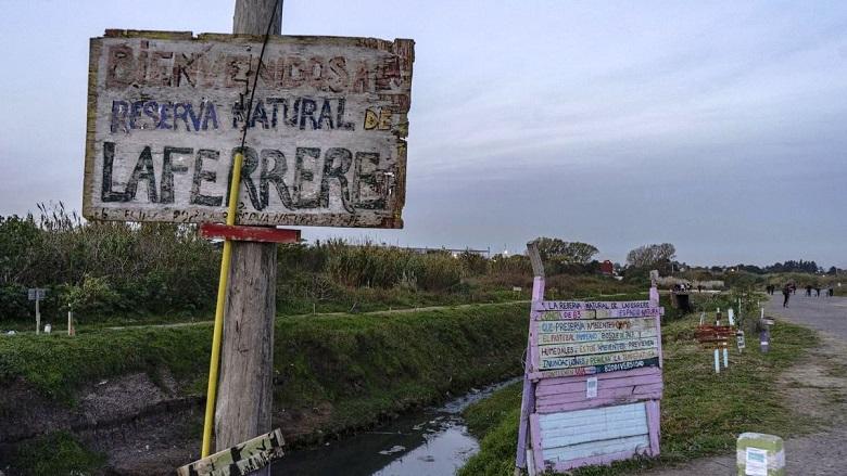 La existencia de un basural pone en peligro la preservación de la Reserva Natural de Laferrere