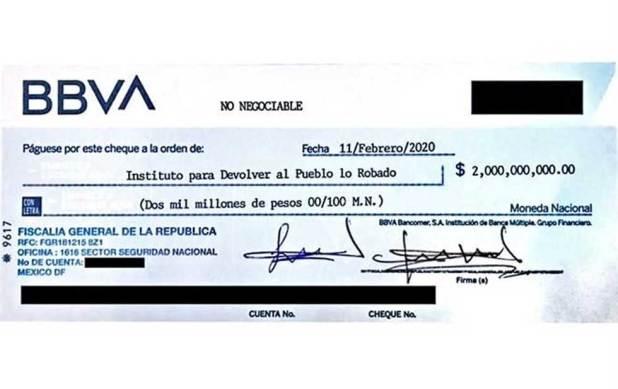 Rebotan' cheque para pagar la rifa del avión | El Diario