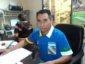 Ejec. de la Fed de campesinos, Lucas Evangelio Cáceres