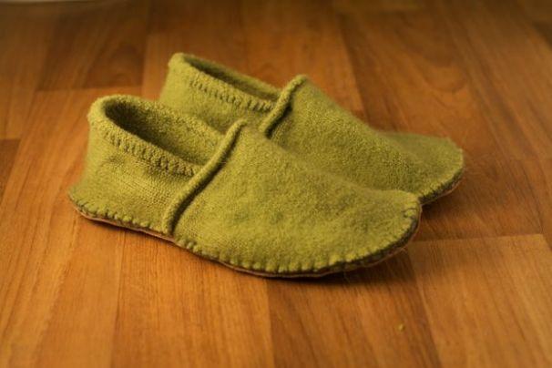 hacer pantuflas recicladas 1