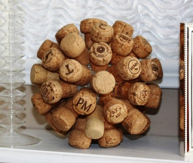Ideas para reciclar corchos esfera