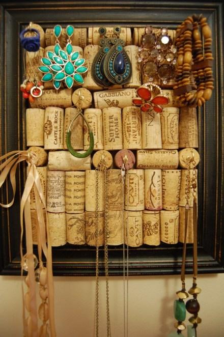 Ideas para reciclar corchos panel