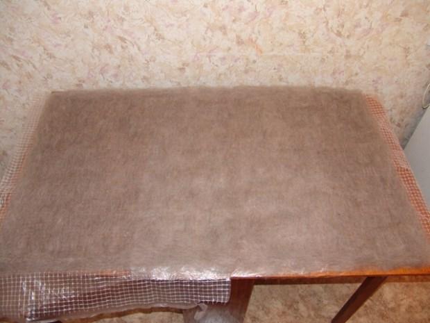 Con su teres reciclados tela artesanal pizza - Reciclar restos de lana ...