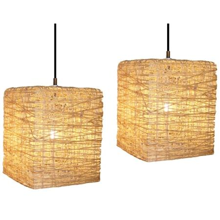 L mparas artesanales de hilo dise os y t cnicas - Como hacer una lampara de pared ...