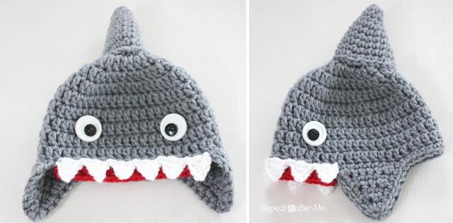 gorros de crochet para bebés 2