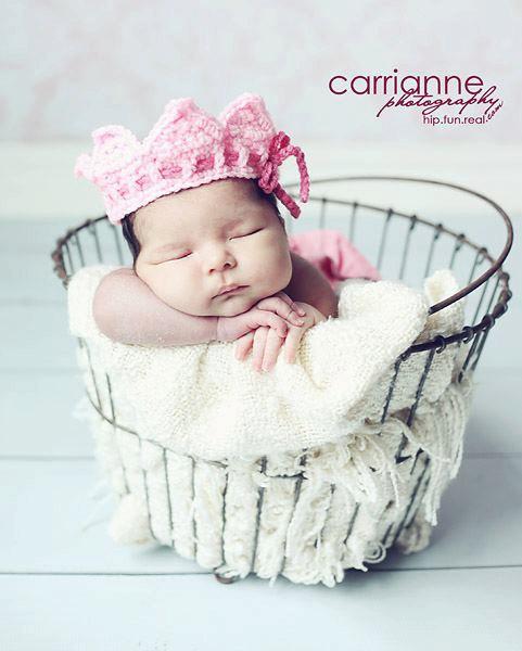 gorros de crochet para bebés 5