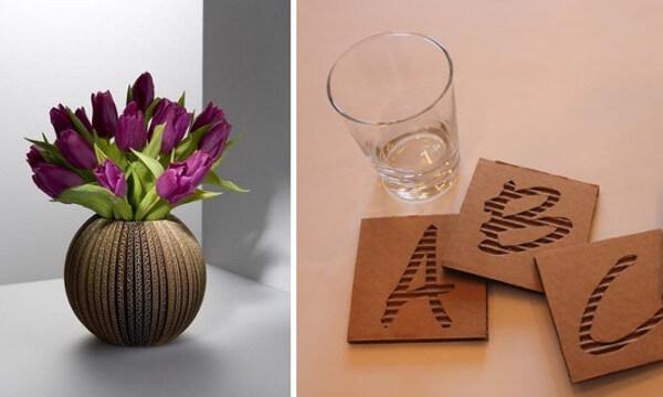 20 ideas para reciclar cart n fuera cajas diario for Ideas decoracion reciclaje