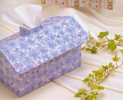 Servilletero de carton reciclado