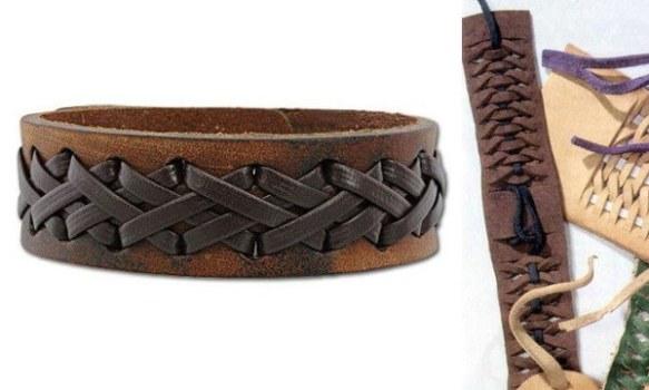 Tecnicas para hacer pulseras de cuero