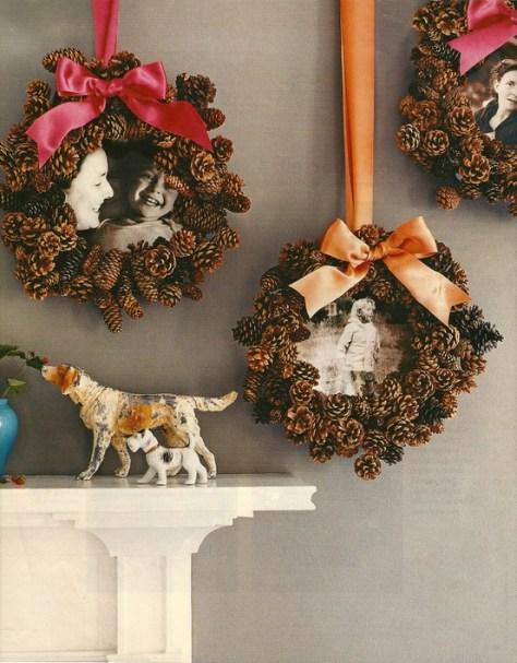 Decorar con pi as ideas para navidad - Decorar pinas naturales ...