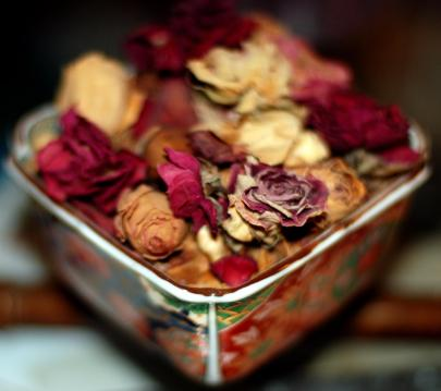 Recetas para hacer popurrí de rosas