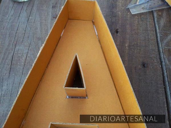 Moldes para letras de cemento 6