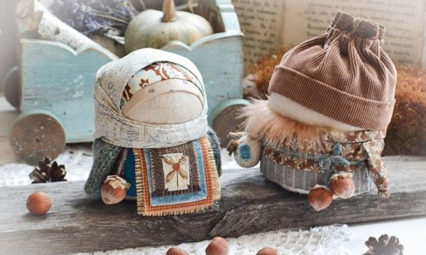 Zernovushka: Muñecas de trapo rusas (muy fáciles de hacer)