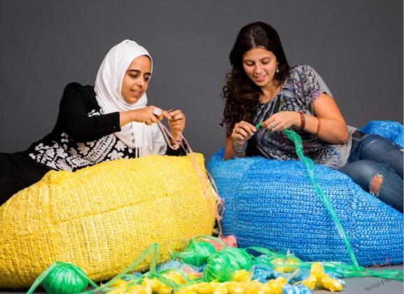 Ideas para reciclar bolsas tejidos crochet