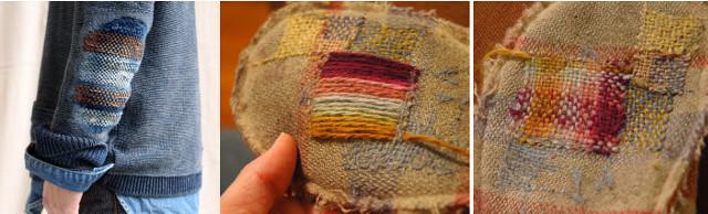 coser-un-parche-en-prenda-de-lana
