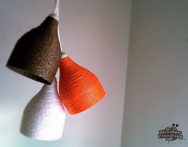 botellas de plstico recicladas cmo hacer lmparas con botellas e hilo