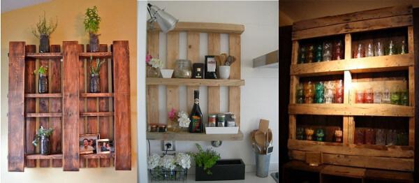 Muebles con palets reciclados 70 ideas creativas - Estanterias para botellas ...