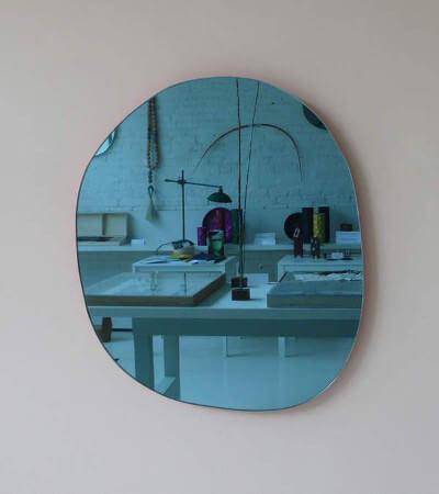 Ideas para decorar con espejos de colores