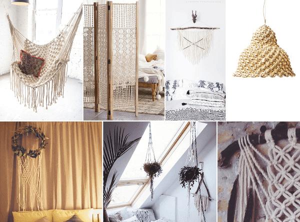 Ideas para decorar con macramé portada