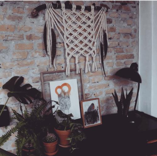 Ideas para decorar con macramé cómo hacer un tapiz fácil