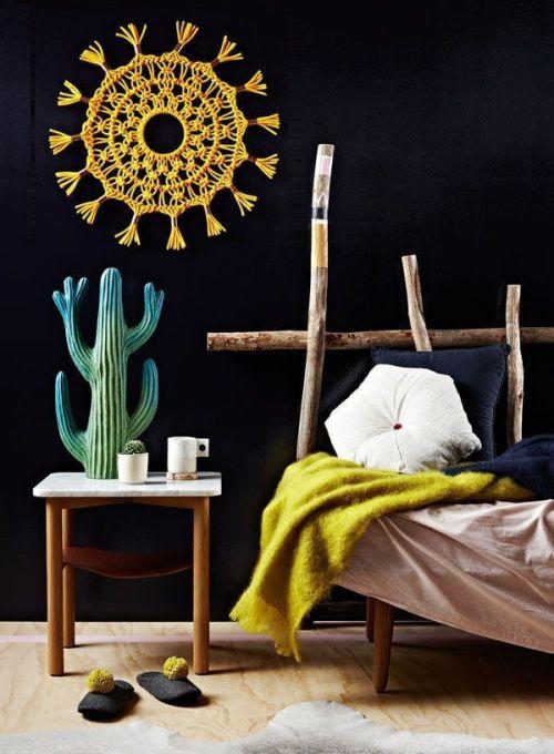 Ideas para decorar con macramé para la pared
