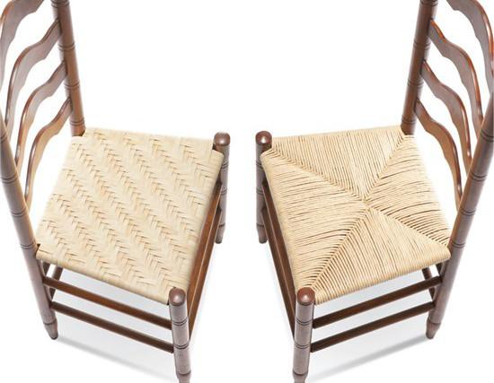 Retapizar muebles con hilo de papel sillas recicladas