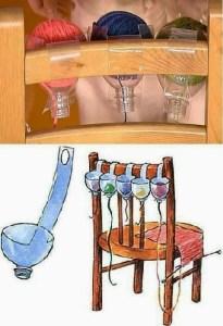 Trucos para tejer con lanas de colores
