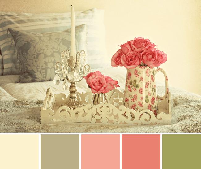 30 Paletas de colores vintage y shabby para la decoracin
